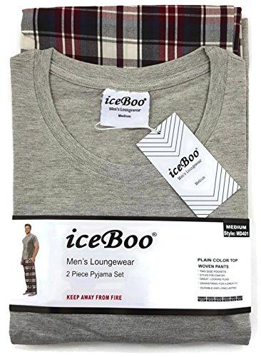 iceBoo Herren Schlafanzug MD401