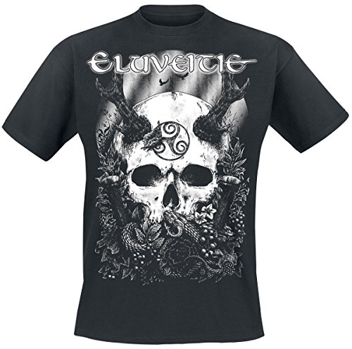 Eluveitie The Antlered One T-Shirt nero L