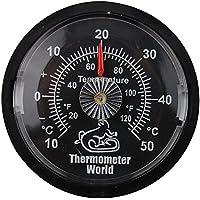 Reptil tanque termómetro–Monitor temperatura en Vivarium terrario 65mm Dial