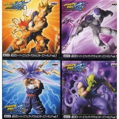 Dragon Ball Kai Sectional Super Effect Action Pose Figure vol.1 all four sets (japan import) (Sectional-sets Unter 500)