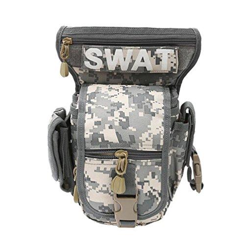 Wmshpeds Outdoor fan militare super Borse sottosella uomini e donne spalla tactical camouflage sella obliqua tasche multi - scopo borsa reflex D