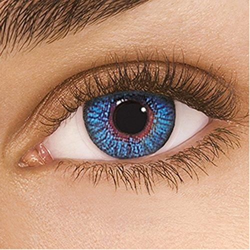 FreshLook Colors Sapphire Blue Monatslinsen weich, 2 Stück / BC 8.6 mm / DIA 14.5 / -1.5 Dioptrien
