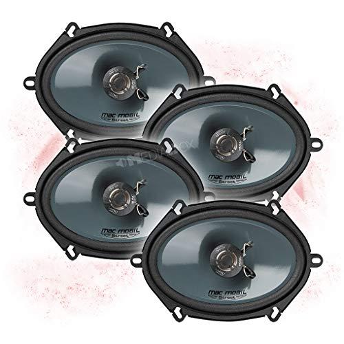 Pioneer Juego Completo de Altavoces Frontales y Traseros para Hyundai i40 a Partir de 2011 16,5 cm//165 mm
