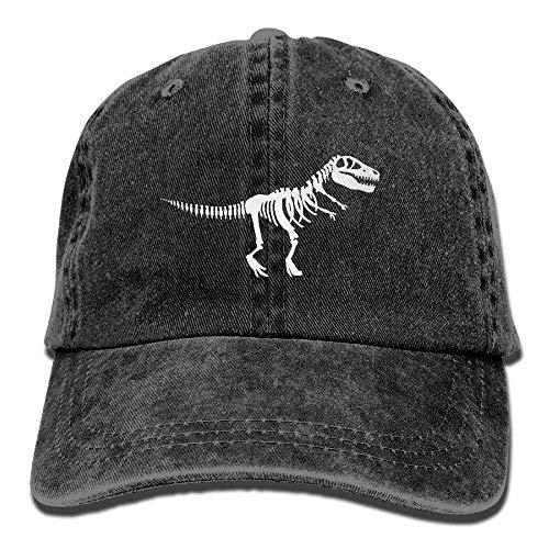Doreen Emmie T Rex Skelett Dinosaurier Erwachsene Cowboyhut