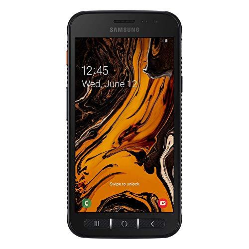 samsung galaxy xcover 4s (2019) smartphone, black, display 5.0, 32 gb espandibili, ram 3gb, batteria 2.800 mah, certificazione ip68, android 9 pie [versione italiana]