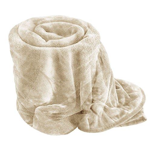 Nueva piel sintética de lujo manta