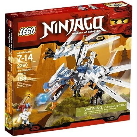 LEGO Ninjago Ice Dragon Attack - juegos de construcción (Multicolor)