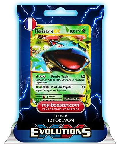 FLORIZARRE EX 1/108 180PV XY12 EVOLUTIONS - Booster de 10 cartes Pokemon francaises my-booster