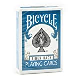 1 Deck of Bicycle Turquoise Rider Back Playing Cards Standard Edition Deck