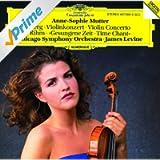Berg: Violin Concerto / Rihm: Time Chant (1991/92)