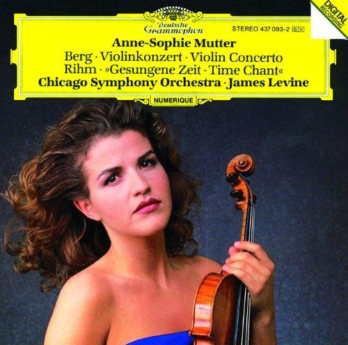 Berg: Violin Concerto / Rihm: ...