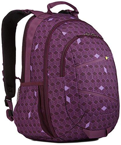 Case Logic Berkeley II Poliéster Púrpura mochila – Mochila para portátiles y netbooks (Poliéster, Púrpura, Monótono, 300 mm, 310 mm, 435 mm)