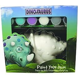 Hucha para pintar a tu gusto de dinosaurio