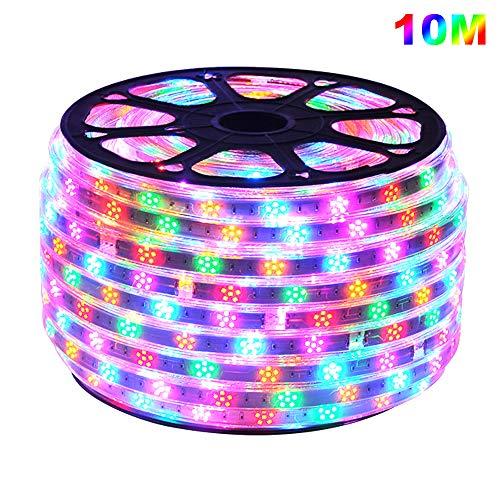 Preisvergleich Produktbild 10m LED Licht Streifen,  LED Stripes Multi-Farben Lichtband,  GreenSun LED Lighting 120LEDs / m 2835SMD Lichterkette Wasserdicht Lampenband Weichnachten Party Deko
