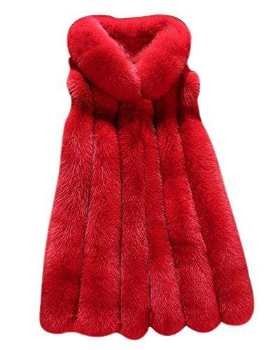 FOLOBE Womens 'Winter Warm Faux Pelz Weste Mantel Jacke (Mantel Weste Pelz Jacke)