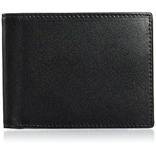 flintronic RFID-Blocker Schutz Geldbörse, RFID Brieftasche Echtem Leder, Herren Geldbörse, RFID Schutz Kreditkarten