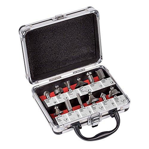 KREATOR - Aluminium Case 12 Router Bits 8mm KRT060180