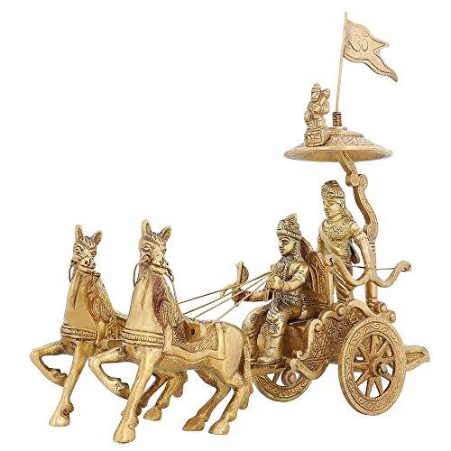 statua-in-ottone-indiano-arredamenti-signore-krishna-arjun-hanuman-cavallo-203-cm-15-kg
