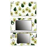 Disagu SF-106242_1121 Design Folie für New Nintendo 3DS - Motiv Avocados Muster klar