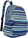 Miss LuLu Women Butterfly Flower Polka Dot Galaxy Retro Fashion Backpack Rucksack Travel Camping Work School Bags