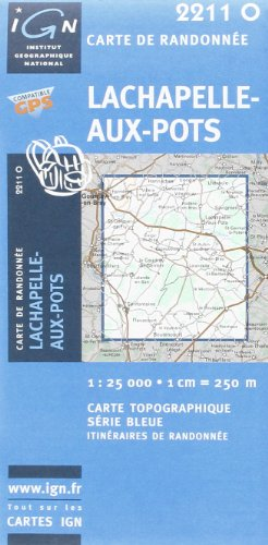 Lachapelle-aux-Pots: IGN2211O (Ign Map) par From Institut Geographique National