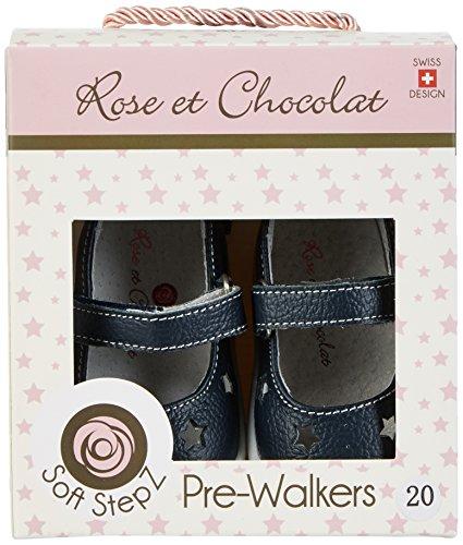 Rose & Chocolat - Ballet Slippers, Scarpine e pantofole primi passi Bimba 0-24 blu (navy)