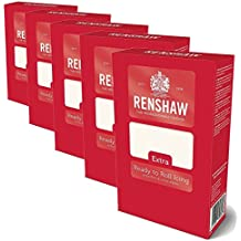 Renshaw Ready to Roll Icing Extra Rollfondant 5x1kg
