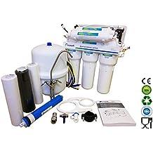 Ecosoft 6Etapa Deluxe doméstica sistema de purificación de ósmosis inversa con bomba