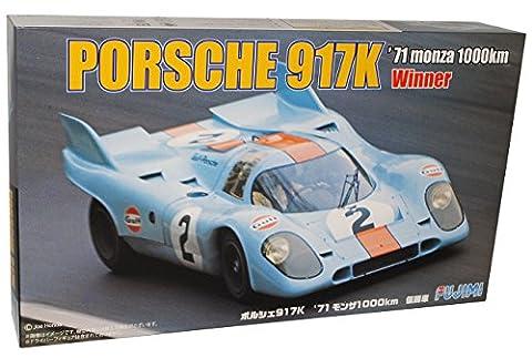 Porsche 917K Gewinner Monza 1000km 1971 Gulf Kit Bausatz 1/24 Fujimi Modell Auto Modell Auto