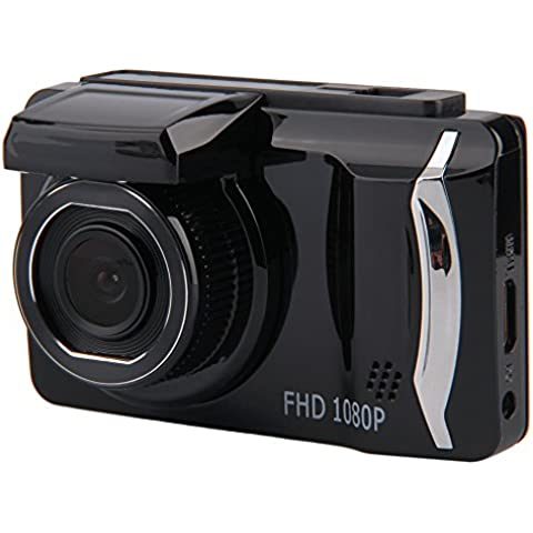Droys (TM) GT800 3.0 pollici auto videocamera dvr dash cam 1080P Full HD veicolo IR Video Registrator Registratore