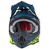 O'Neal 2Series RL Spyde Motocross MX Helm Enduro Trail Quad Cross Offroad, 0200, Farbe Schwarz, Größe M