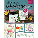 Best Aunt Martha's Aunt Books - Aunt Martha's Flowers and Butterflies Embroidery Transfer Pattern Review
