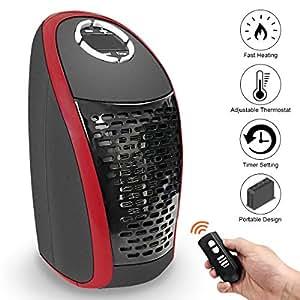 amade 400w radiateur soufflant electrique mini radiateur soufflant chauffage d 39 appoint avec. Black Bedroom Furniture Sets. Home Design Ideas