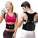Gifort Geradehalter zur Haltungskorrektur, Schulter Rücken Haltungsbandage verstellbare Größe...