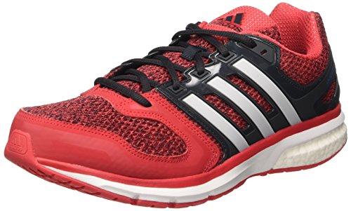 adidas Questar Boost M, Zapatillas de Running para Hombre, Rojo (Rojray / Ftwbla / Negbas), 43 1/3 EU