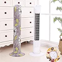 Sensecrol Fully Surrounded Tower Fan Cover Fully Stretchable Stretch Fabric Dust Guard Keep Away from The DustLiquids Dirt Compatible With Most Tower Fans