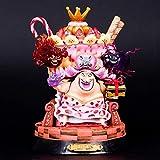 Sconosciuto Toy Statue One Piece Toy Model Collezione di Personaggi dei Cartoni Animati Artigianato Zia Lingling 22CM