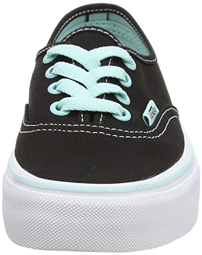 Vans Unisex-Erwachsene Authentic Outdoor Fitnessschuhe Schwarz - Noir (Pop - Black/Blue Tint)