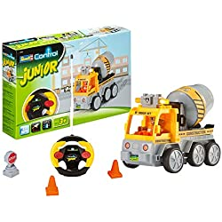 Revell Control Junior 23007 Camión hormigonera contol Remoto, de 2 Canales con emisora de 27 MHz, 19,0cm