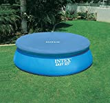 INTEX Pool-Abdeckplane für Easy-Pool, blau Ø 244cm Plane Poolplane Abdeckung Schutzplane
