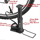 Best Bike Pump With Gauges - RDK PRO Foot Activated Bike Pump with Pressure Review