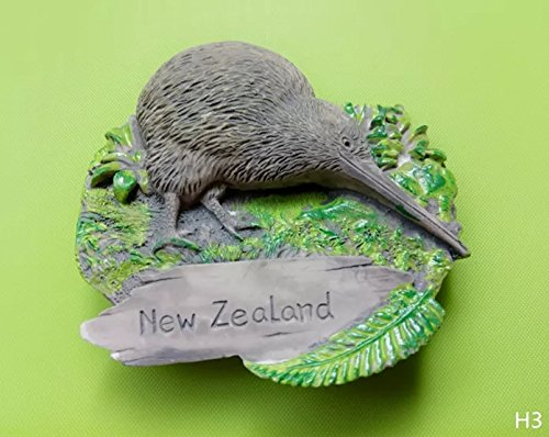 Preisvergleich Produktbild 3D Neuseeland Kiwi Vogel Kühlschrank Magnet,  Tourist Souvenir Magnete Geschenk