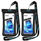Mpow Floatable Waterproof Case 2 Packs, Dry Bag Cellphone Pouch for..