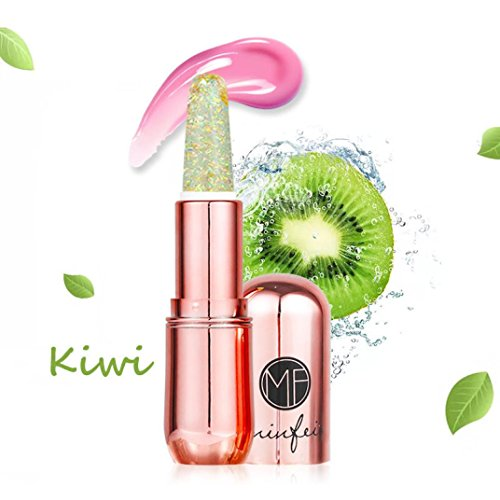 Jelly Lippenstift, Huihong 6 Farben Schönheit Kristall Lippenstift Magie Temperatur ändern Farbe Lippe (A)