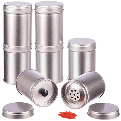 12er Pack der großen Gewürz-Dosen mit zusätzlichen Innendeckel, für optimalen Schutz und Frische, stapelbar, aus hochwertigen Material
