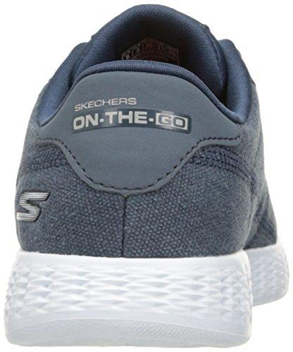 Sport scarpe per le donne, colore Blu , marca SKECHERS, modello Sport Scarpe Per Le Donne SKECHERS ON THE GO GLIDE Blu Marina Bianca