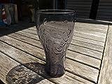 COCA COLA PURPLE GLASS