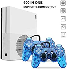 Retro Game Console , 600 Classic Family Game Console with 2Pcs Joystick , Support SFC , NEOGEO ,CP1 , CP2 , GBA
