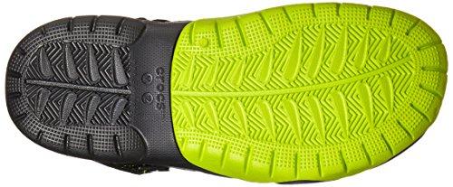 Crocs Swiftwater M, Sabots - Homme Noir (Black/Volt Green)