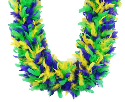 Touch of Nature 40920 Chandelle Boa, 120 g, Mardi Gras Mix